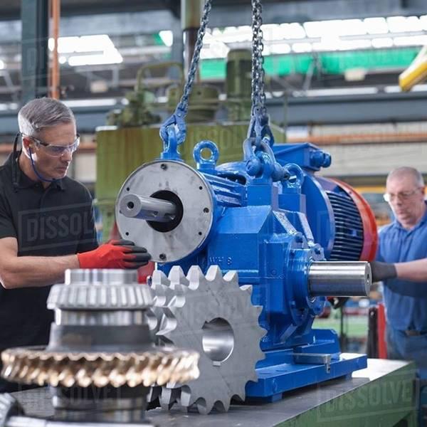 تعمیر کننده موتور گیربکس صنعتی