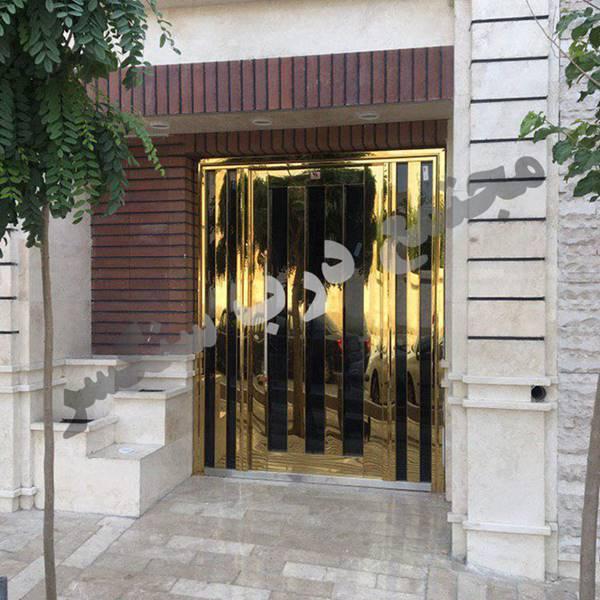 درب استنلس استیل