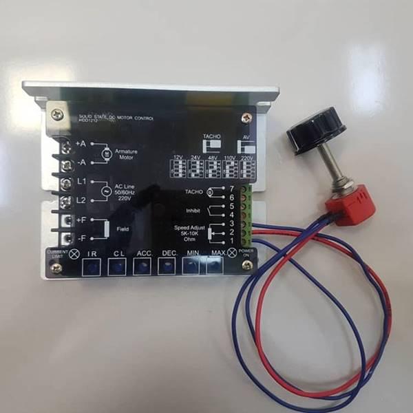 کنترل دور الکتروموتورDC