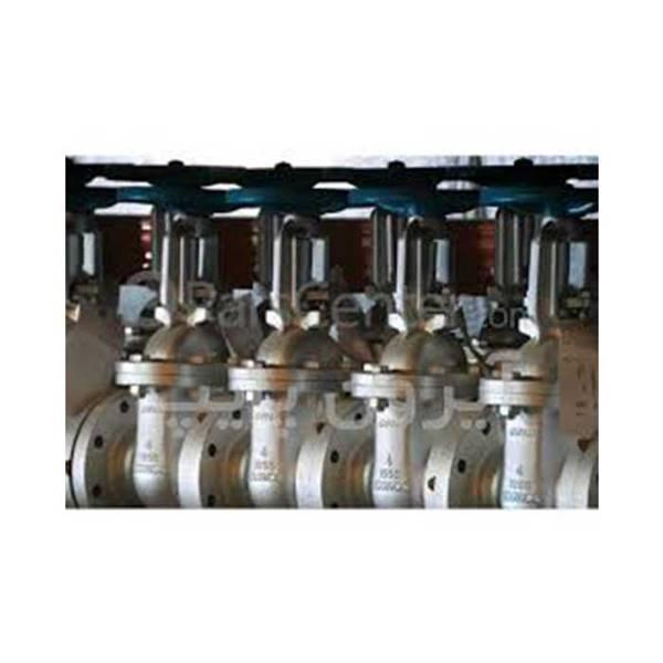 شیر فلکه فولادی  1 اینچ 2 اینچ 3 اینچ 4 اینچ 6 8 اینچ