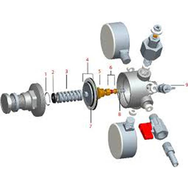 رگولاتور RMG  رگولاتور گاز شهری RMG