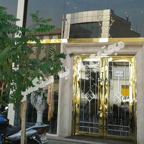 تولید درب استیل هتل