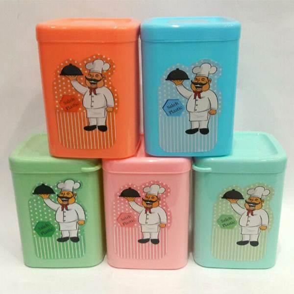 قوطی حبوبات سرآشپز با رنگ های متنوع