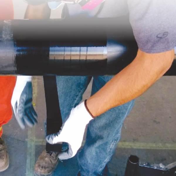 نوار آلتن کاووس شیمی مشکی عایق سرد وگرم پلی اتیلن ( زیرین iner wrap ) سایز 4 اینچ