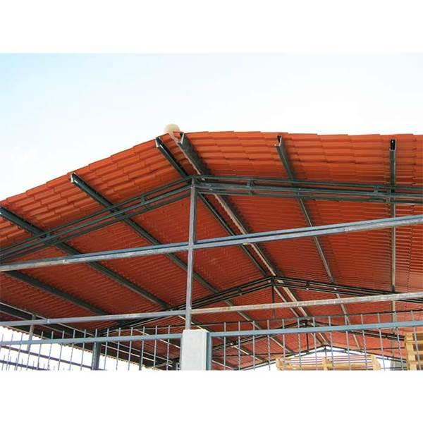 اجرای پوشش سقف خرپا