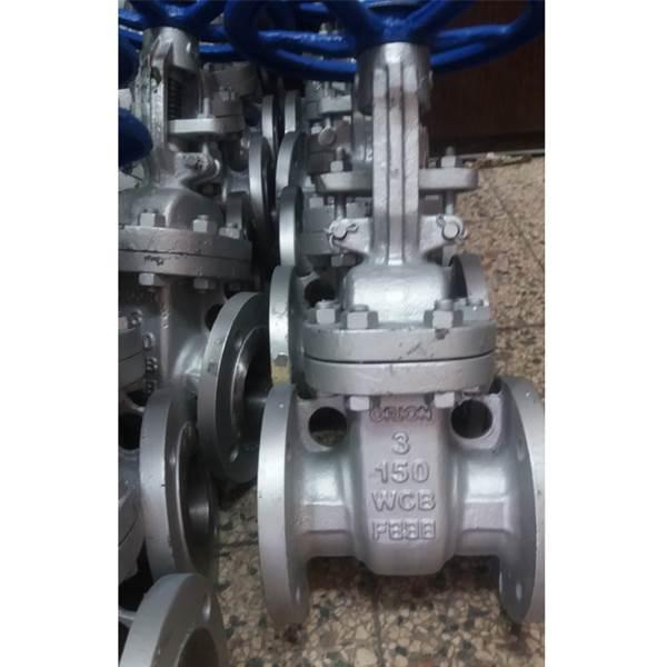 تولید کننده شیر فلکه کشویی فولادی 150