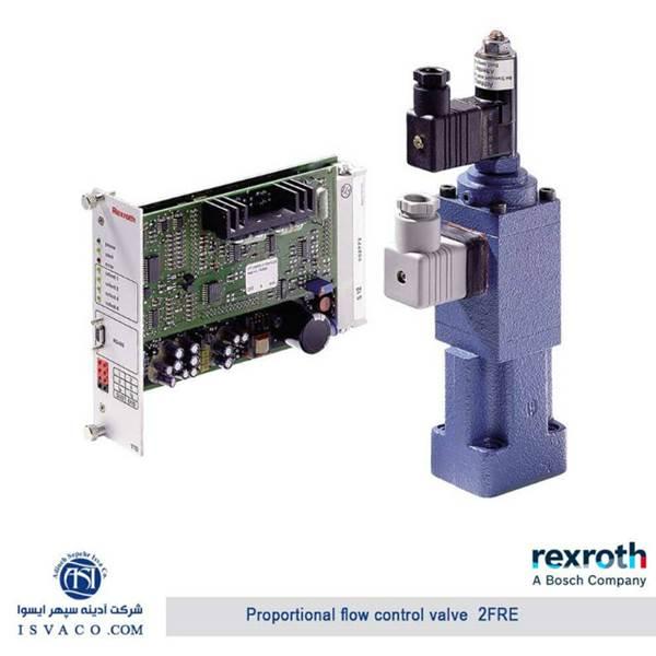 شیر کنترل دبی پروپرشنال هیدرولیک rexroth