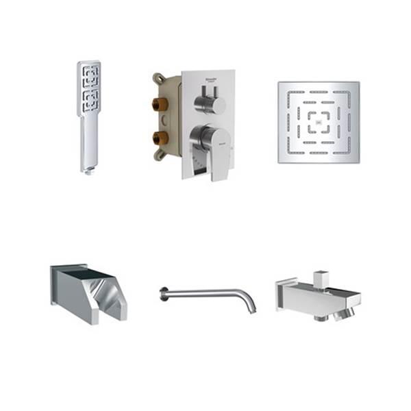 شیر توکار حمام مدل رومر شودر