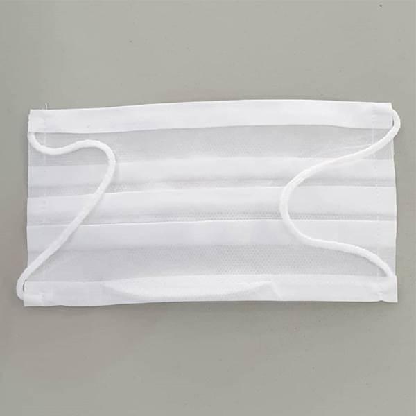 توزیع کننده ماسک سفید