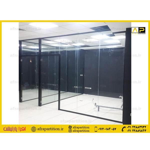 پارتیشن شیشه ای حمام