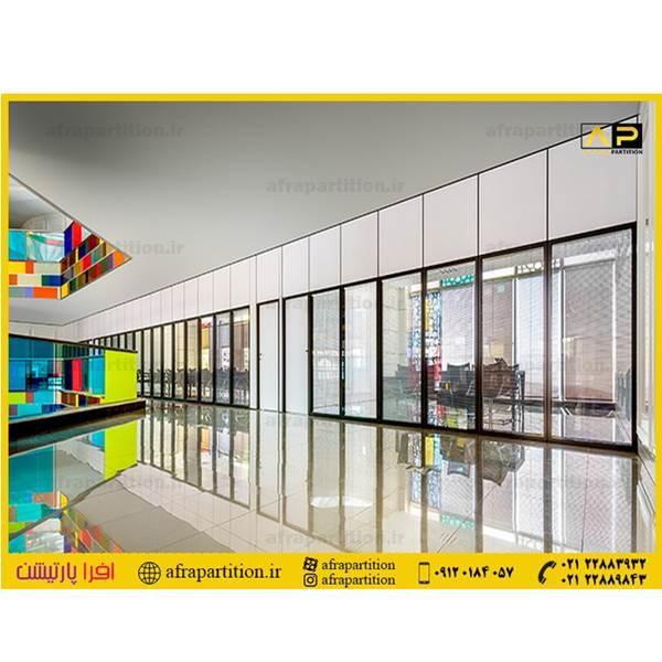 پارتیشن دوجداره  شیشه ای ساختمان