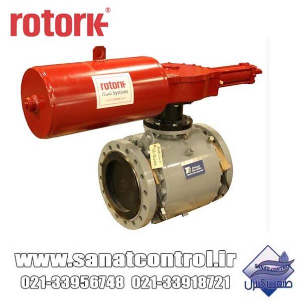 اکچویتور پنوماتیک روتورک rotork