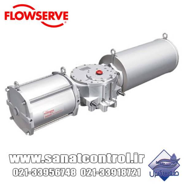اکچویتور پنوماتیک flowserve