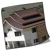 اجرای سقف شیروانی - سقف شیب دار